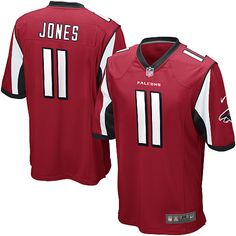 Youth Nike Atlanta Falcons Julio Jones Game Team Color Jersey (S-XL)  69d2ac6c5