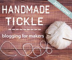 Your Invitation to Join Us on Handmade Tickle! - Blogging for Makers! EverythingEtsy.com #blogging #blog #etsy