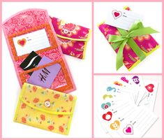 Fold-Over Gift Card Case with Double Vinyl Pockets | Sew4Home