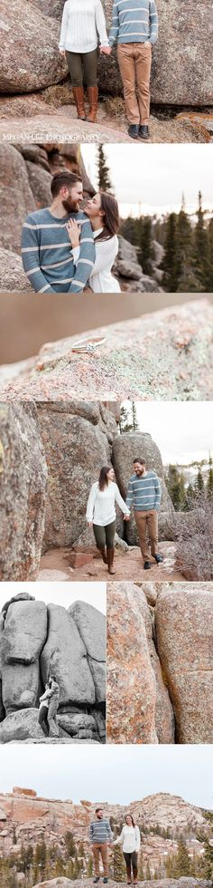 VEDAUWOO, Medicine bow national Forest Engagement session by Megan Lee Photography based in Laramie Wyoming