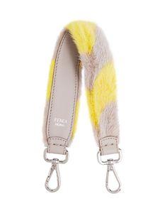 FENDI . #fendi #bags #shoulder bags #lining #fur #metallic #