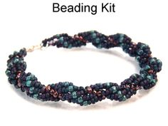 Beading Kit and Pattern Spiral Staircase by SimpleBeadKits