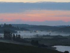 Sarkkilanjärvi, misty midsummernight   ~Finnish nature through my eyes - Sari Lapikisto