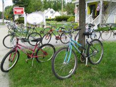 Bikes Galore at #SurvivingSistersBoutique