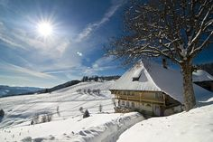 Really feel winter here as newley weds! #Honeymoon in a village @ the Black Forest