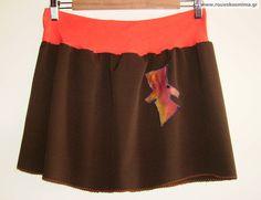 Φούστα με ντίλι Cheer Skirts, Fashion, Moda, Fashion Styles, Fashion Illustrations