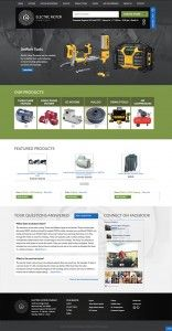Electric Motor Company - New website Design by Redwood Valley Technical Solutions
