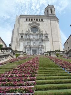 Temps de Flors in Girona, Spain