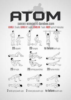 Full Body Darebee Bodyweight Workout