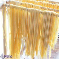 Zelf spaghetti (pasta) maken van speltmeel