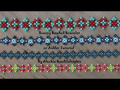 Abalorios Manualidades - Pulsera de Miyuki con Telar - YouTube