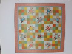 Star and nine patch quilt. Love it!