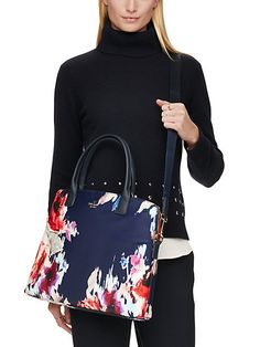 Kate Spade laptop bag | Floral tech accessories for Mother's Day