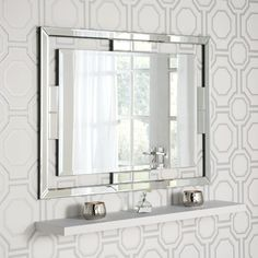Rio Silver Rectangular Wall x - , available to buy online or at Choice Furniture Superstore UK on stockist sale price. Get volume - discount with fast and Free Delivery. Industrial Bathroom Mirrors, Rectangular Bathroom Mirror, Hallway Mirror, Hallway Wall Decor, Funky Mirrors, Glass Mirrors, Vanity Mirrors, Wall Mirrors, Venetian Mirrors