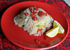 Couscous with tuna amazing and healthy dish for a quick lunch idea Rawaa's kitchen