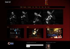 web Xavier Coll - guitarrist