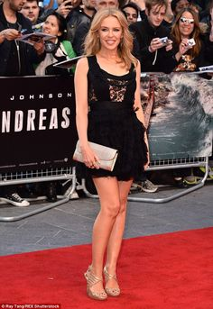 She's a star: The pop star was centre of attention at the world premiere for the movie...