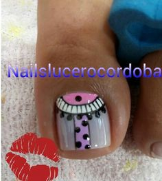 Cute Pedicures, Pedicure Nails, Toe Nail Art, Toe Nails, Toe Nail Designs, Hair Beauty, Polish, Candy, Toenails