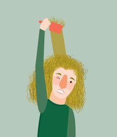 Megan Monismith - me everyday. #design #illustration #art #gif #animation