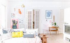No Home Without You - Colorful living room (17 of 21)