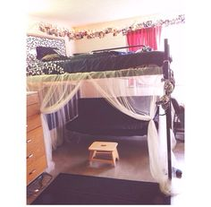 this is actually an interesting idea  under my lofted bed   futon  couch  dorm  dormroom  college      rh   pinterest
