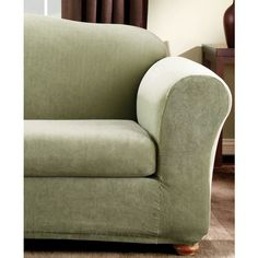 sure fit scroll tcushion loveseat slipcover brown floral products loveseat slipcovers and loveseats
