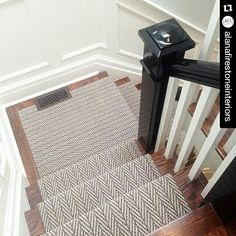 Only Natural carpet from Tuftex Carpets of California on this staircase.
