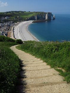 Etretat, Normandie ,France Been there, wanna go back! Places Around The World, Oh The Places You'll Go, Places To Travel, Places To Visit, Around The Worlds, Vacation Destinations, Dream Vacations, France Vacations, Etretat Normandie