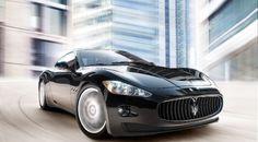 Maserati Gran Tourismo  In jet black, of course... no more needs to be said.