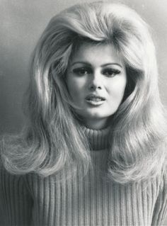 Big hair flip for Pamela Tiffin