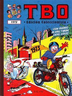 TBO 1973 (Con páginas de Coll y Urda entre otros).    Contenido:  Almanaque humorístico de TBO (1973).  Almanaque TBO para 1973.