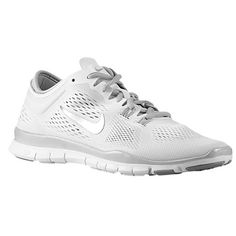 finest selection 715d0 4232d Nike Free 5.0 TR Fit 4 - Women s at Foot Locker All White Nike Shoes,