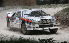 1983 Lancia rally beautiful automobile with an outstanding story driving it. Martini Racing, Maserati, Ferrari, Robert Kubica, Rallye Wrc, Porsche, Automobile, Mercedes Benz, Black Audi