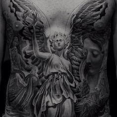 Angels front body Jun Cha