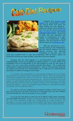 Carb diet recipes