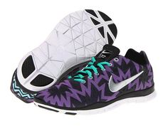 Nike Free Fit 3 Print Atomic Purple/Anthracite/Black/Chrome - Zappos.com Free Shipping BOTH Ways