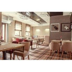 roman blinds for restaurant made in hotel in Lublin, produced by firanelle.pl