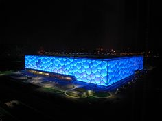 The water cube -Beijing,China