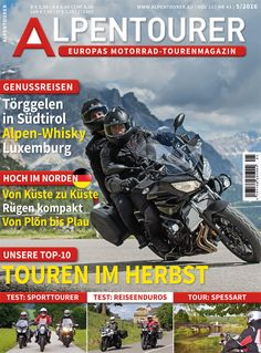 ALPENTOURER 5/2016 Whisky, Comic Books, Comics, Europe, Touring, Luxembourg, Alps, Viajes, Comic Strips