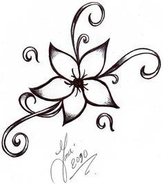 simple-flower-tattoo-design-2.jpg (841×949)