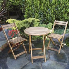 Rondeau Leisure Kreta Wooden Bistro Set