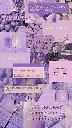 Lavender Aesthetic, Purple Aesthetic, Purple Wallpaper Iphone, I Wallpaper, Aesthetic Pastel Wallpaper, Aesthetic Wallpapers, Bonnie Y Clyde, Collage Vintage, Pastel Purple