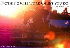 """In riding a horse we borrow freedom."