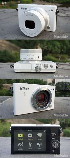 The Nikon 1 J4 is an 18.4-megapixel mirrorless camera with a mostly aluminum and magnesium-reinforced body