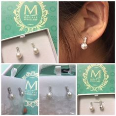 Mousse, Fans, Pearl Earrings, Posts, Pearls, Jewelry, Pearl Studs, Messages, Jewlery