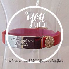 TRICIA DZIERWA | Founding Independent Designer, KEEP Collective ~ E | tdzierwa@bex.net ~ Facebook | https://www.facebook.com/TriciaDzierwaJourney ~ http://www.keep-collective.com/with/Tricia      #bracelets #jewelry #personalized #KEEPcollective #KEEPstyle #party #mothersday