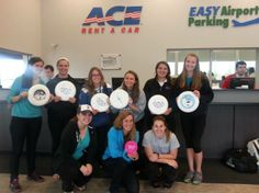 """""""The ultimate Boston Frisbee Team chose ACE the ULTIMATE Car Rental Choice!"""""""