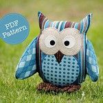 AngelLeaDesigns on madeit. Owl Softie Pattern.