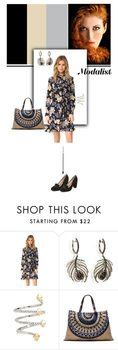"""""""Winter Florals"""" by modalist ❤ liked on Polyvore featuring Tory Burch, Nikos Koulis, Rebecca Minkoff, The Beach People and Steven"""