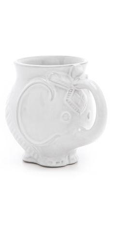 #Elephant Mug, too cute & great gift for an #Alabama fan ;) @ShopBop.com